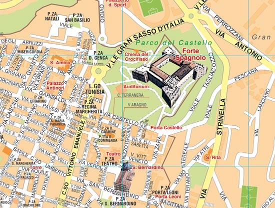 Cartina Abruzzo Pdf.Mappe Di Citta Pdf Vettoriali Da Stampare Mappecitta