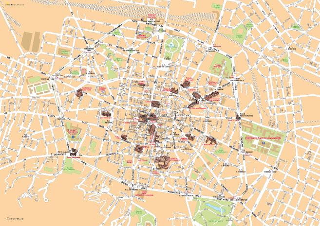 Cartina Di Firenze Centro Da Stampare.Le Mappe Di Bologna In Pdf Vettoriale E Tiff Ad Alta Risoluzione