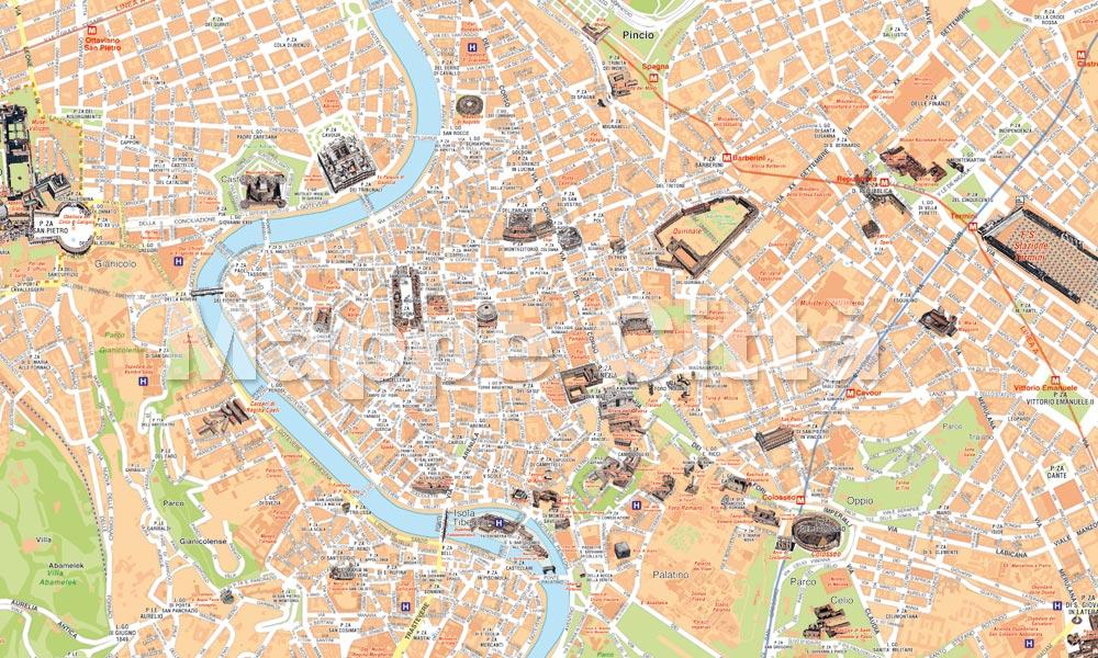 Cartina Turistica Venezia Pdf.Mappe Di Citta Pdf Vettoriali Da Stampare Mappecitta