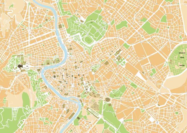 Cartina Roma Piazza Navona.Mappa Di Roma Cartine Digitali Pdf Da Stampare