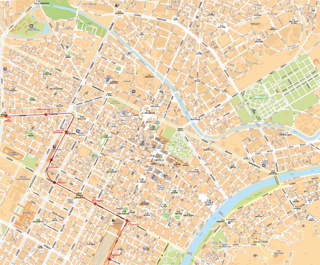 Cartina Di Parigi E Dintorni.Cartina Turistica Centro Storico Torino