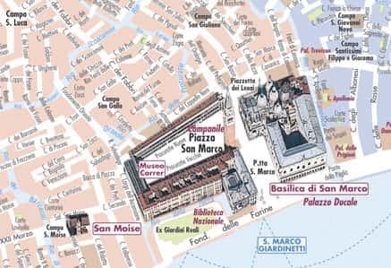 Cartina Di Venezia Con Monumenti.Le Mappe Delle Citta Turistiche Con I Monumenti In 3d Mappecitta