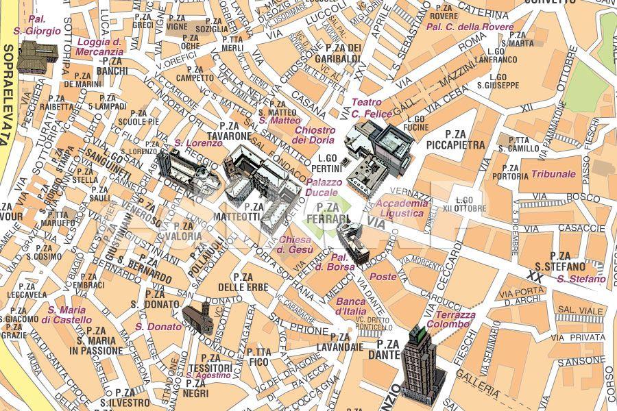 Firenze Cartina Centro Storico.Mappe Delle Citta Italiane Per La Stampa Professionale Mappecitta